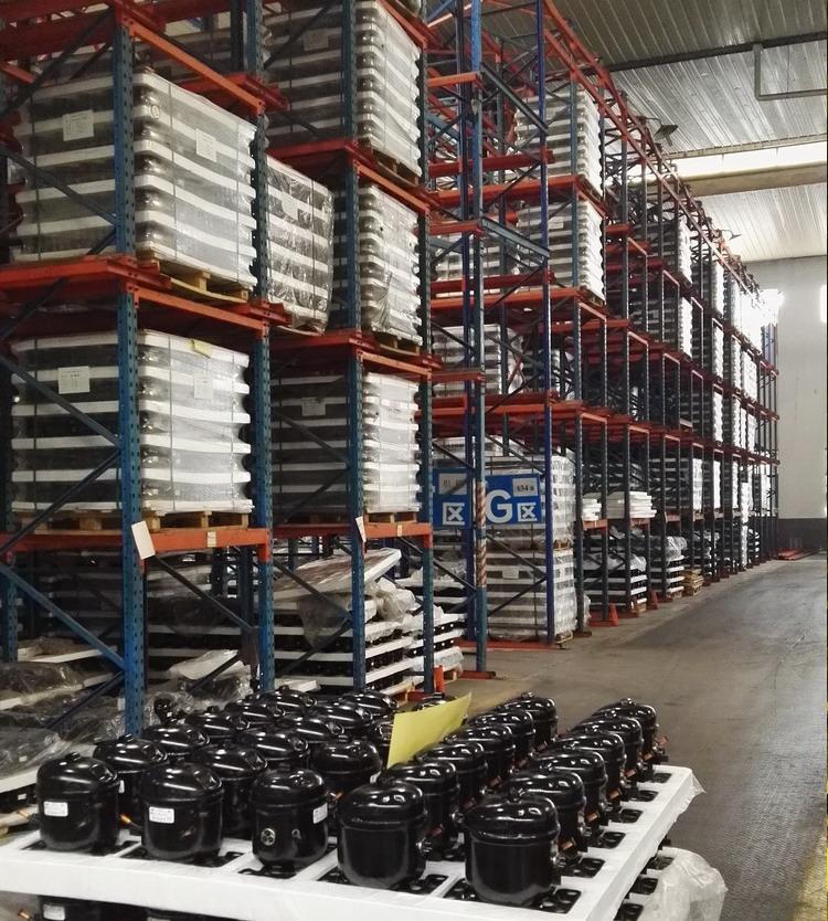 Stock of compressor