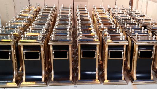 Hot selling dustbin (YH-140)
