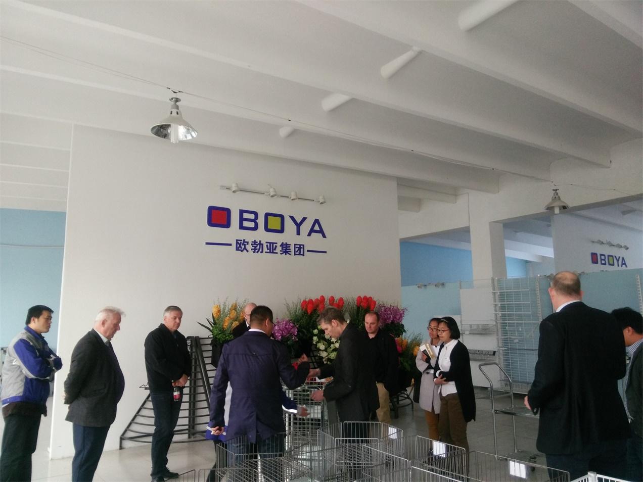 European Customers visit OBOYA Qingdao plant