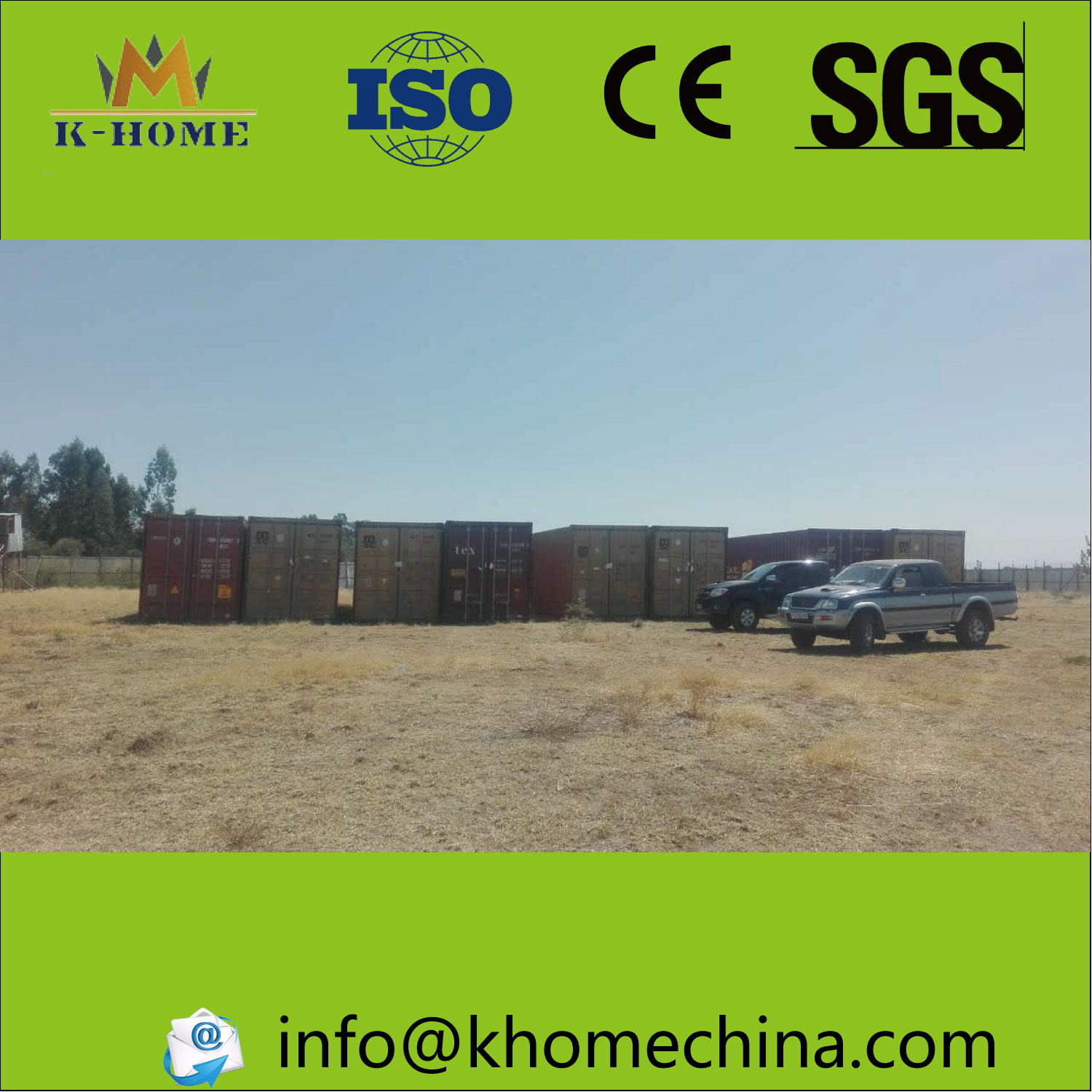 Magnesium panel chicken house arrived to Ethiopia