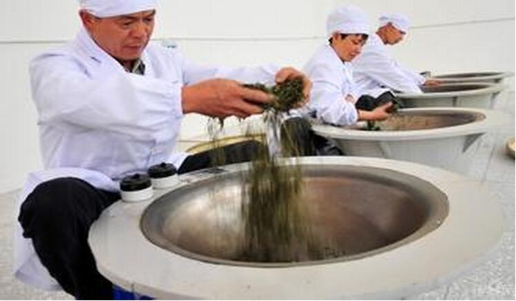 Our tea making process