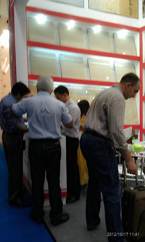 The Canton fair showroom