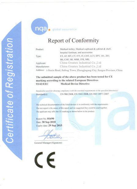 CE Proved Certificate