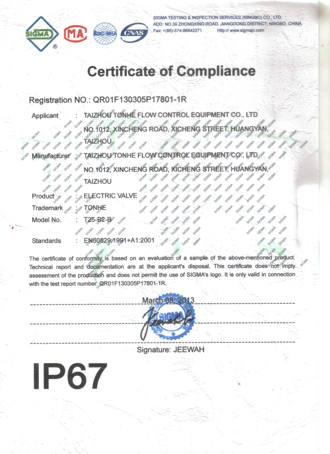TONHE-IP67