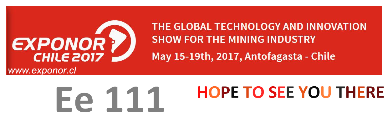 We will attend Exponor Chile 2017,booth number:Ee 111