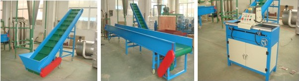 Belt conveyor for a Tunisia customer