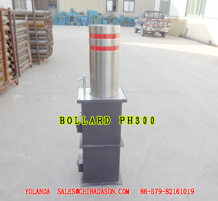 Retractable Semi-automatic Bollard PH300