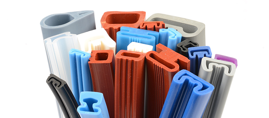 Silicone rubber parts and seals