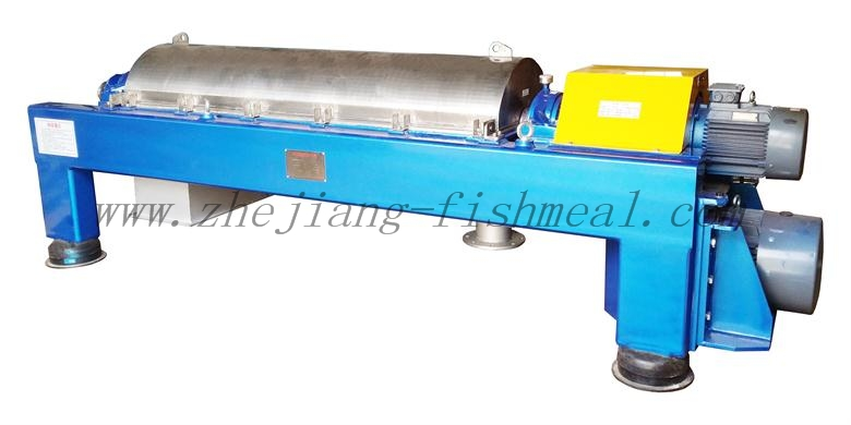 liquid and solid decanter for fishmeal plant line