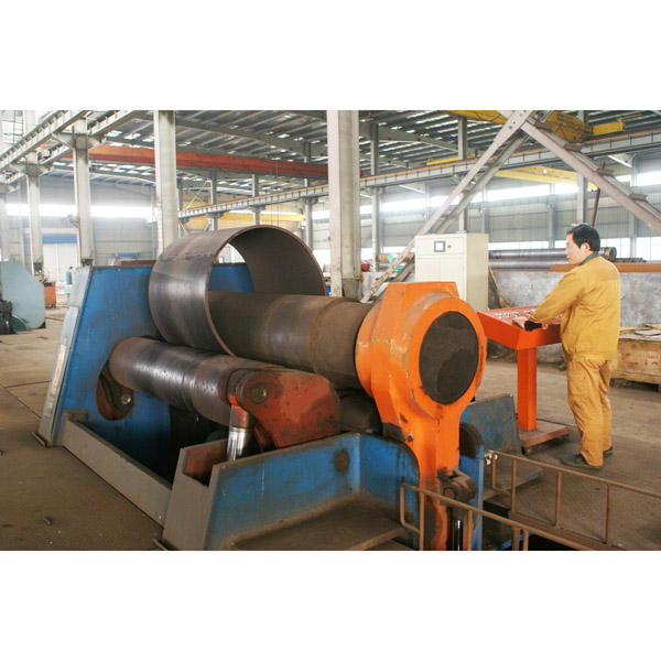 Conveyor drum rolling machine
