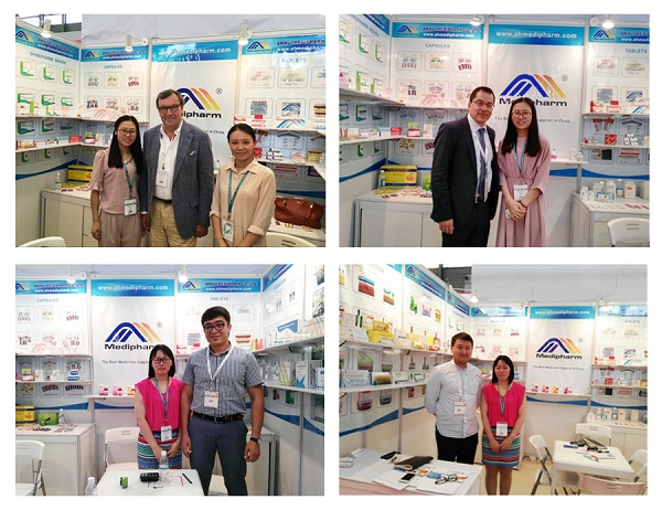 Anhui Medipharm in the 2016 CPHI