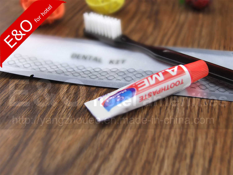 Dental kit pack in aluminum foil bag for hotel