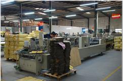 Automatic box folding-machine
