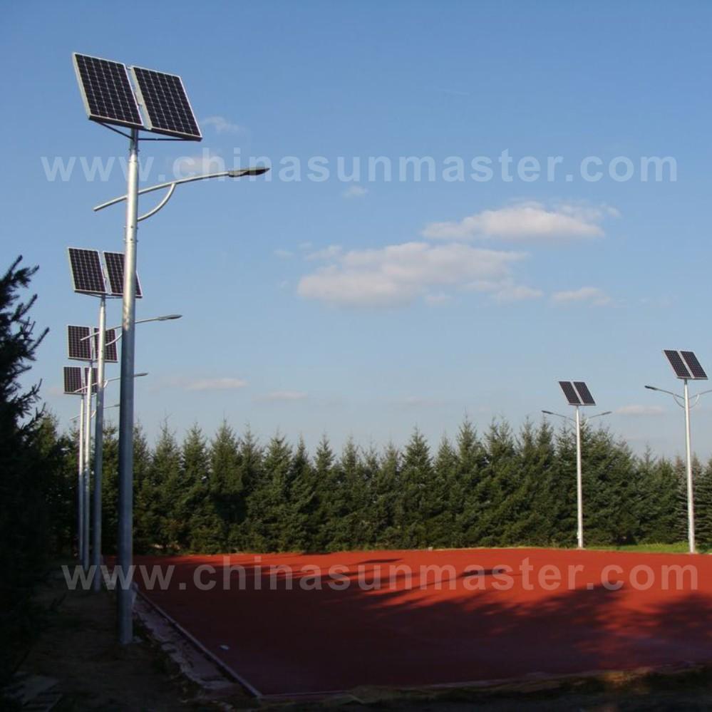 solar street led lights in Poland