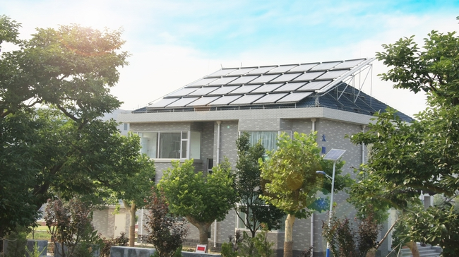 Solar Air Conditiong System of Lishan College