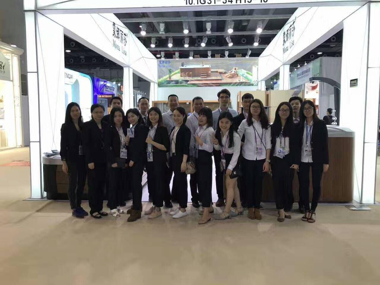 Guangzhou Monalisa In the 121th Canton Fair
