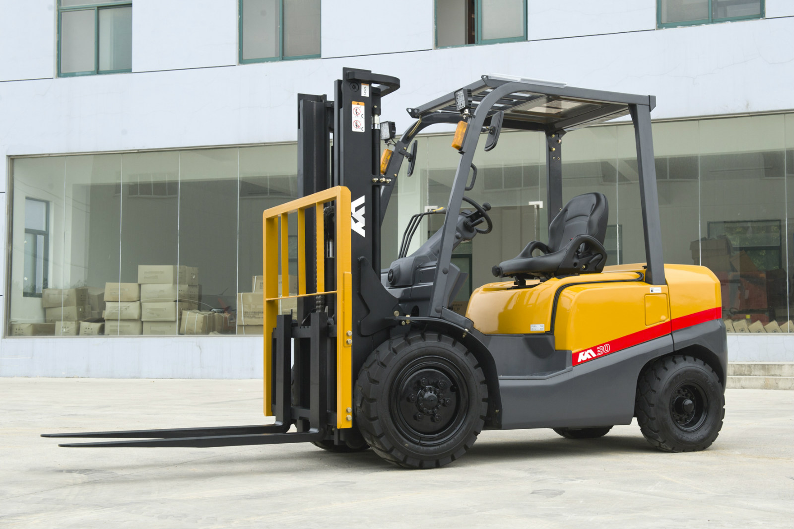 KAT DIESEL FORKLIFT TRUCK with TCM TECHNOLOGY