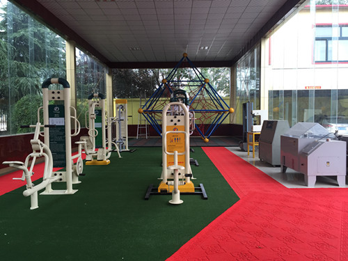 Company Showroom [ outdoor fitness equipment ]