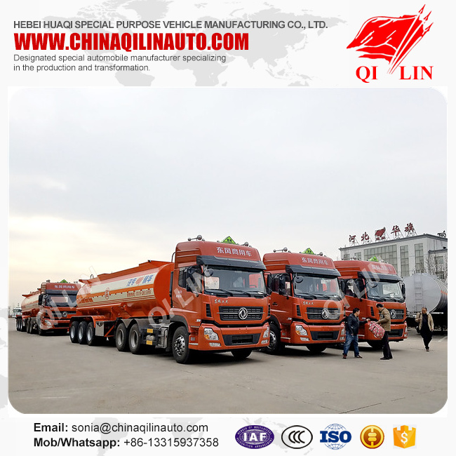 20 Units Cheap price 3 axles Sodium soda tank semi trailer shipped to Tianjin