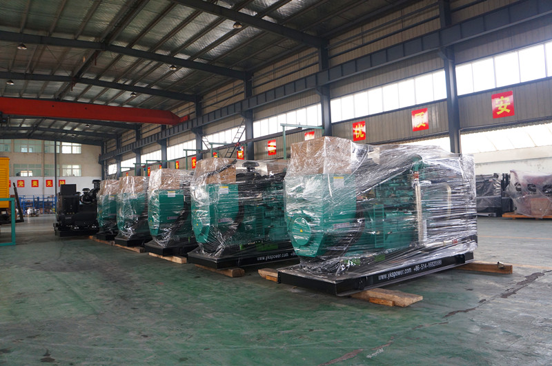 Assembly Line for Diesel Generator Set