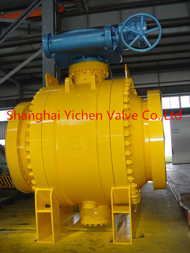 Turbine ball valve
