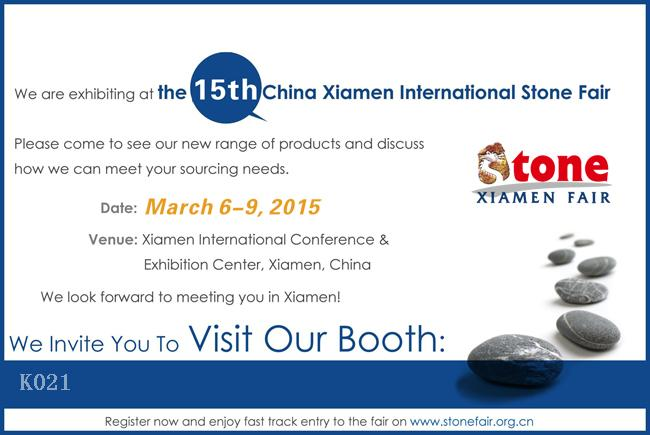 XIAMEN STONE FARI MARCH 6-9TH