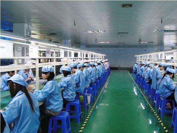 Production line corner B