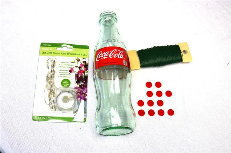 Cocacola Bottle Light DIY with Submersible String Light