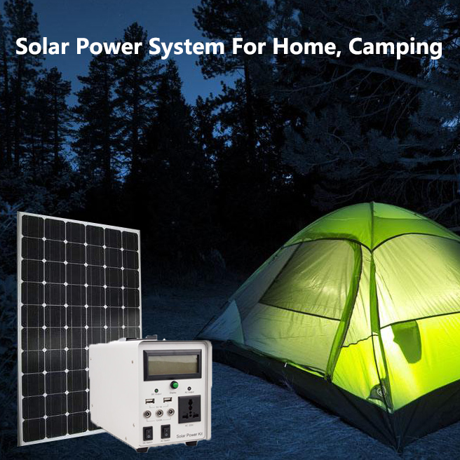 Solar Power Syetem For Home, Camping