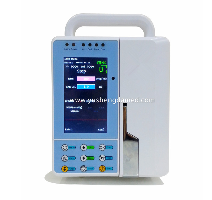 CE Approved Veterinary Portable Syringe Infusion Pump Ysd186A-Vet