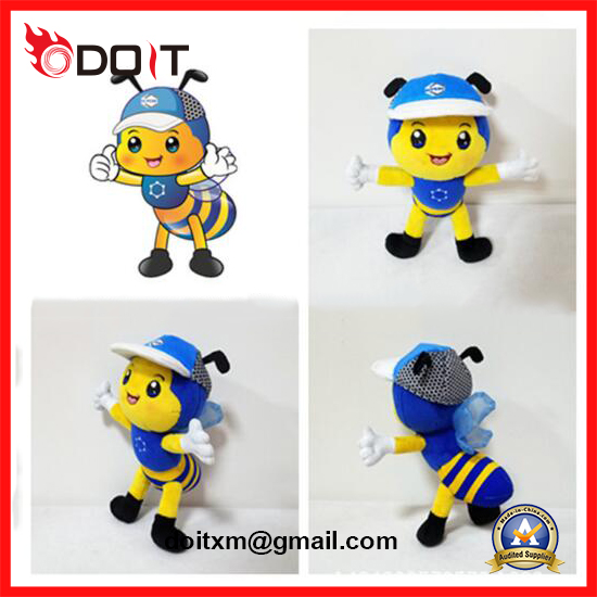 Custom Made Bees for Corporate Mascot as Promotion Gift