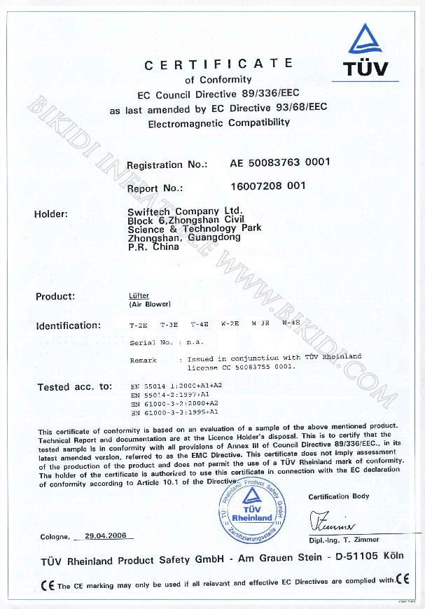 CE Low Voltage 73-23-EEC