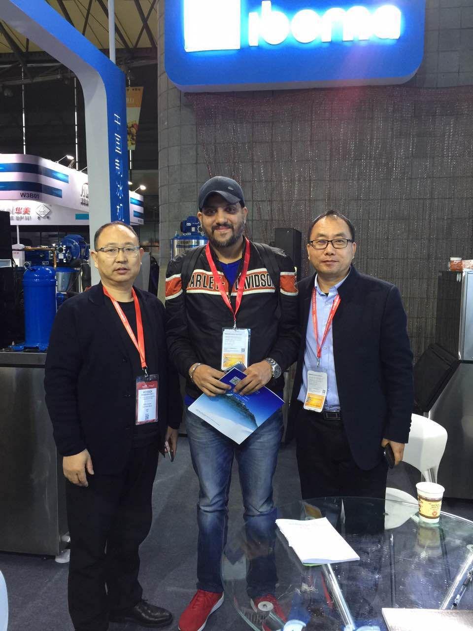 Meet Customer at 2017 SHANGHAI HOTELEX EXHIBITION