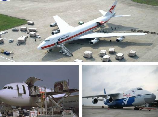 Air freight to Colombia/ Ecuador/ Chile/ Peru/ Uruguay/ Barbados