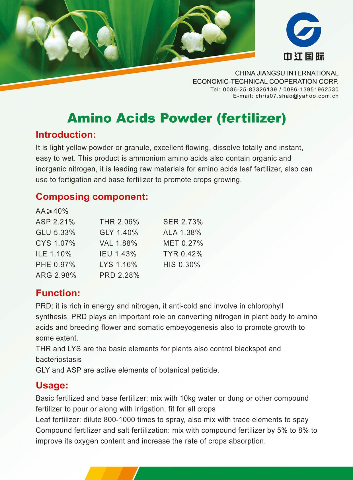 Amino Acids Powder