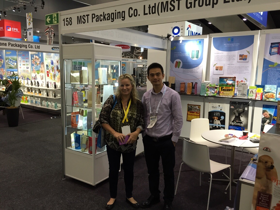 2015 Australian Packaging Exhibition---Cheryl & Michael