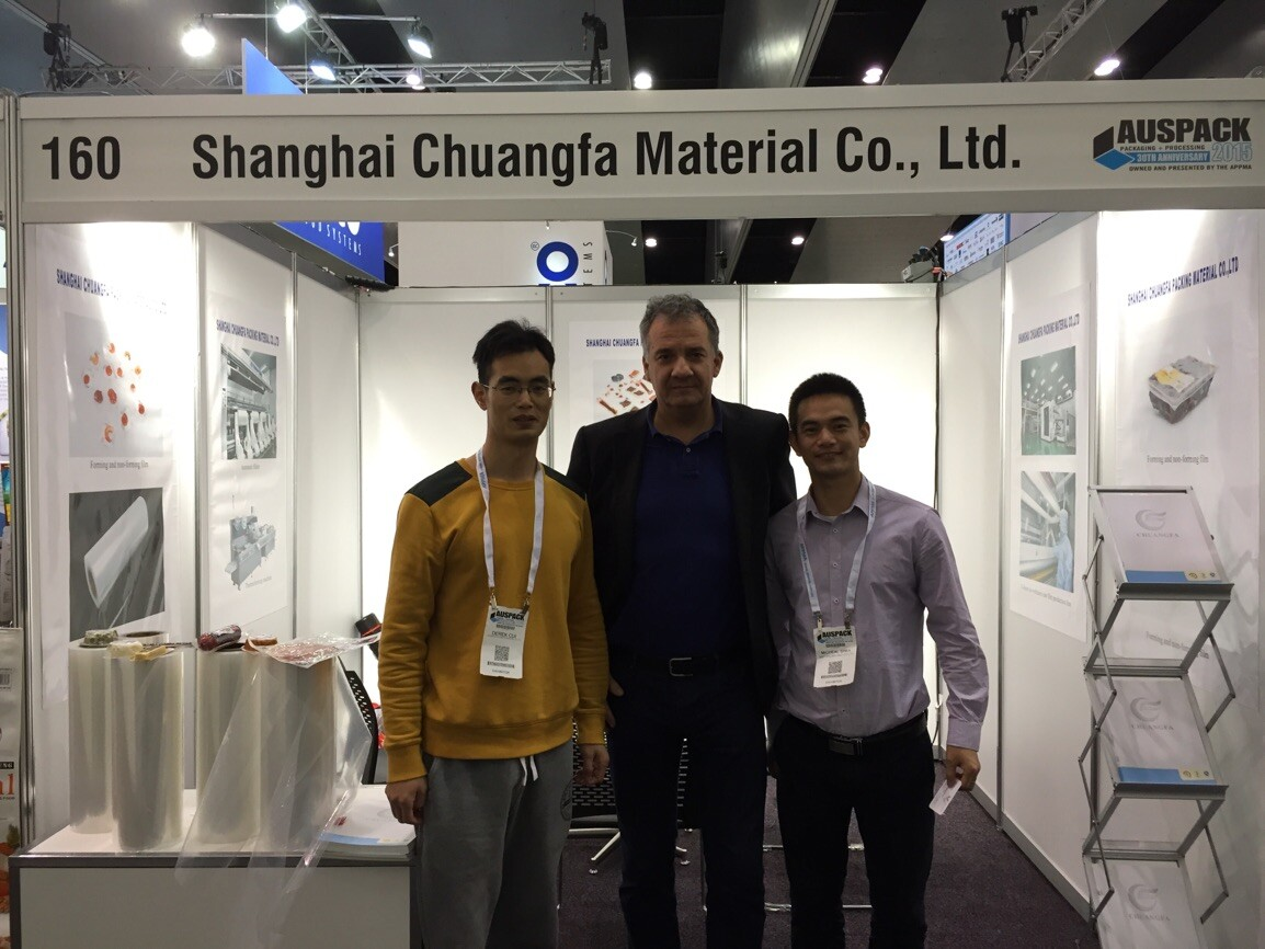 2015 Australian Packaging Exhibition - - Derek, Florin & Michael