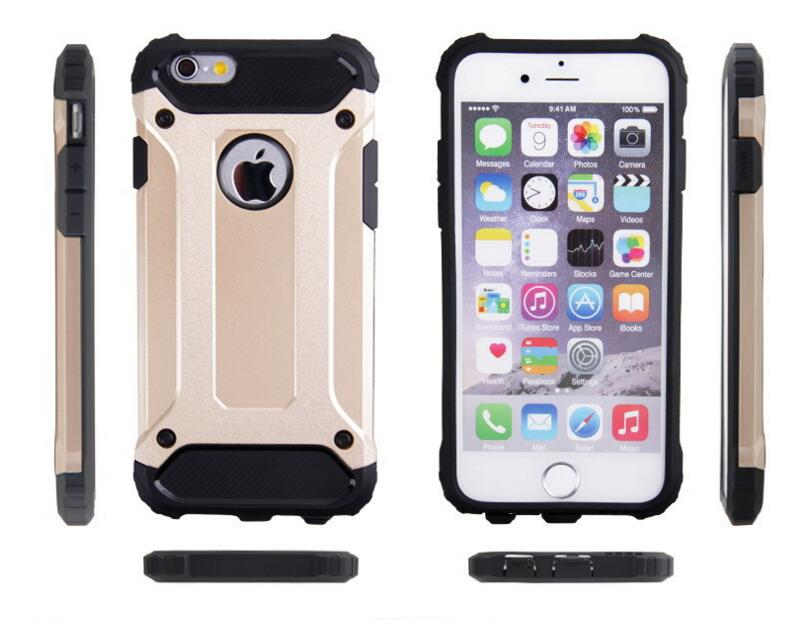 Super Steel Metal Armour Hybrid TPU+PC Cell Phone Case