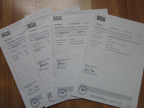 SGS Standard for Nylon and Cotton Fabric