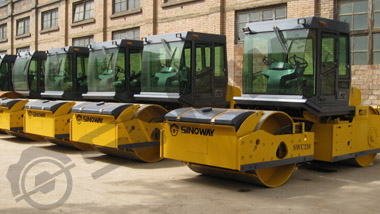 SWC210 Tandem vibratory roller to Congo