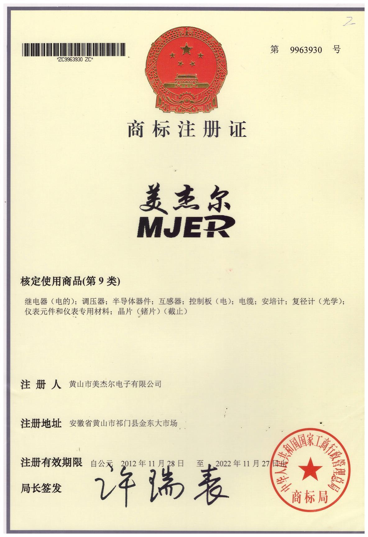 Brand register