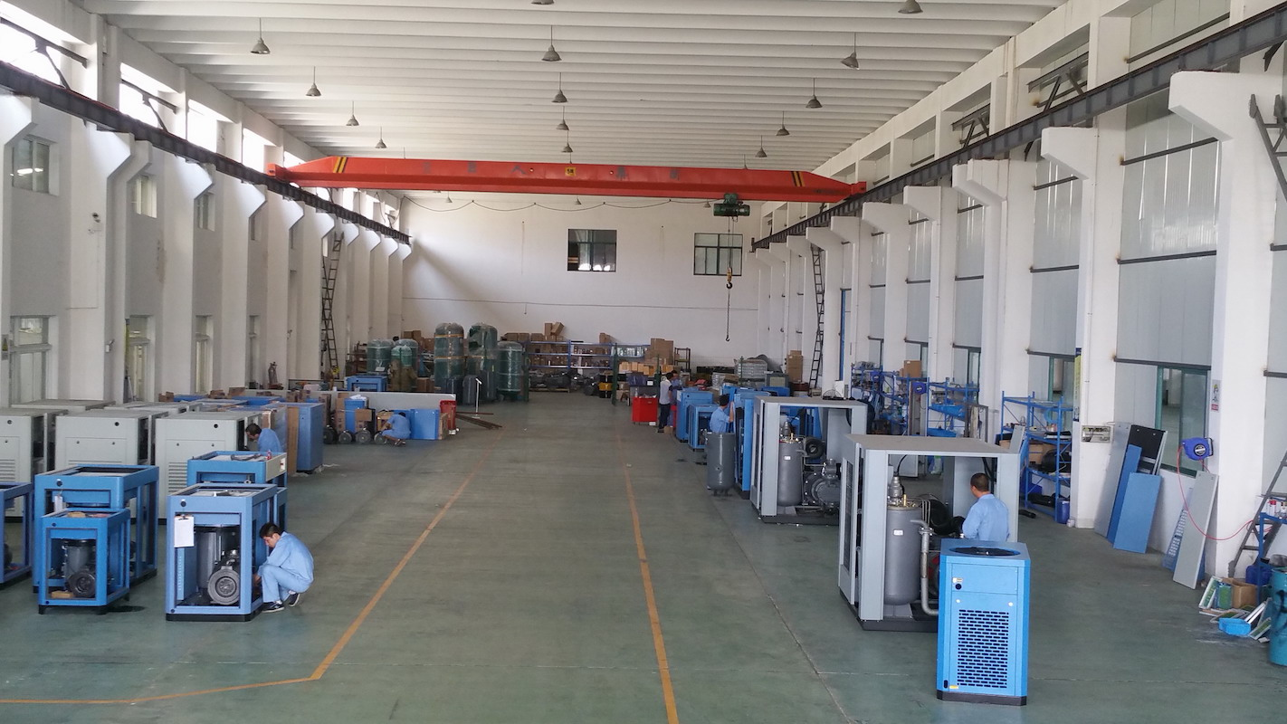 SHHK Air Compressor Workshop for Assembly