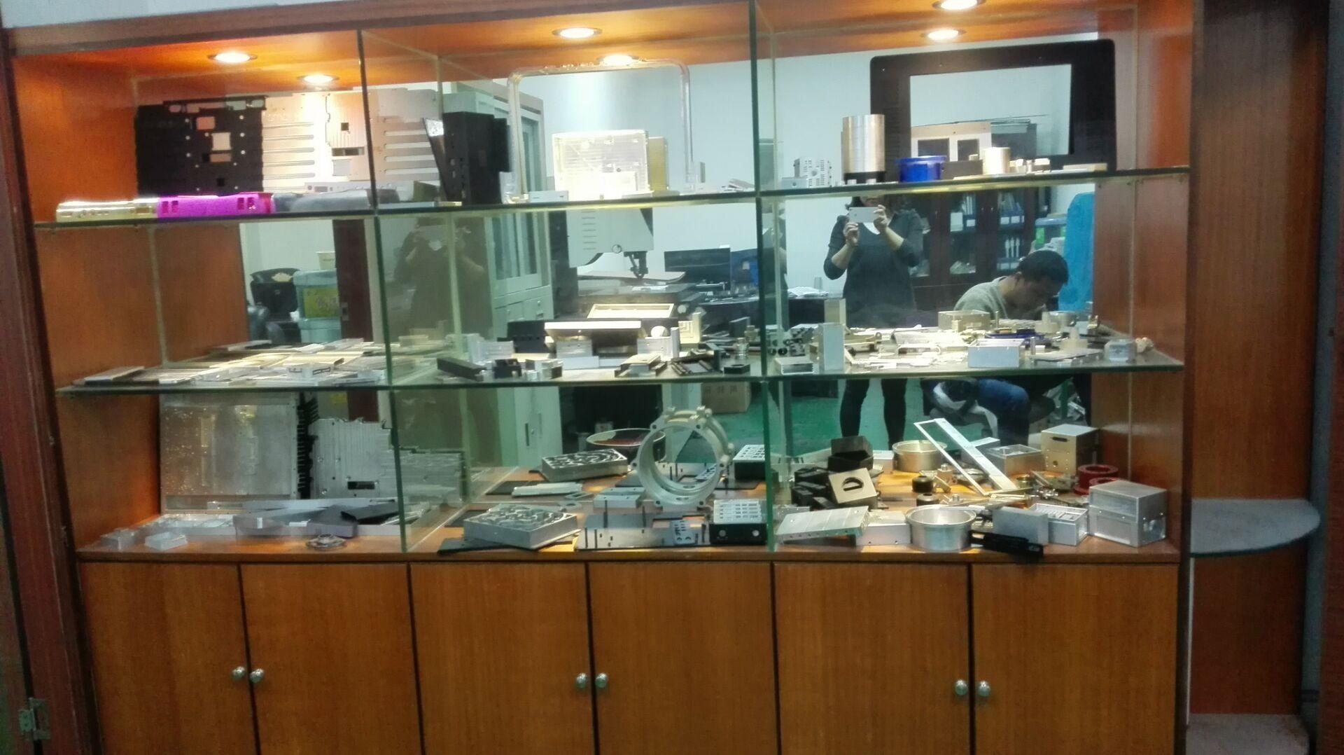 CNC machining samples