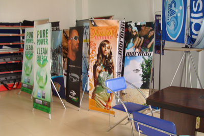 Banner area