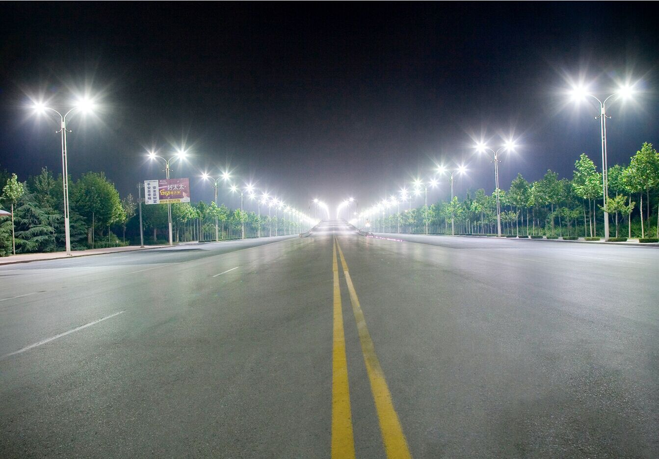 Lighting Project of LED street light 2
