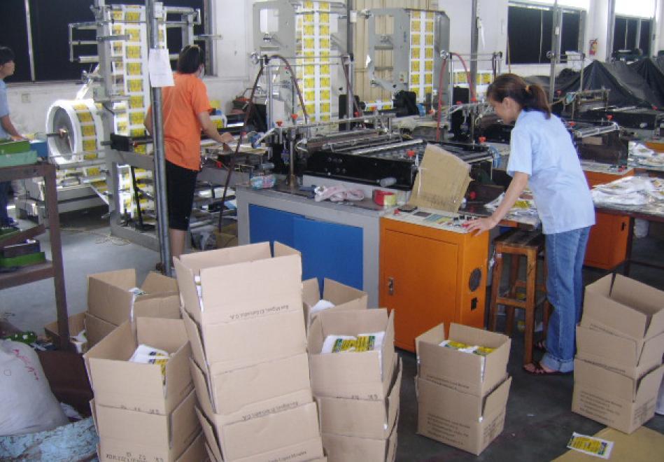 OPP Bags -- Cuting Machine