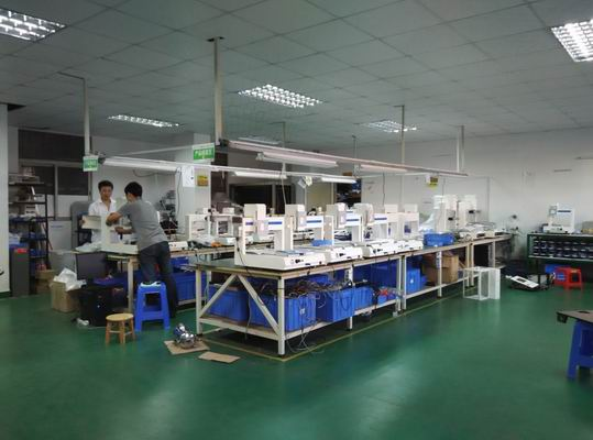 Jaten factory Glue dispensing machine workshop
