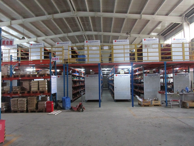 DG's warehouse