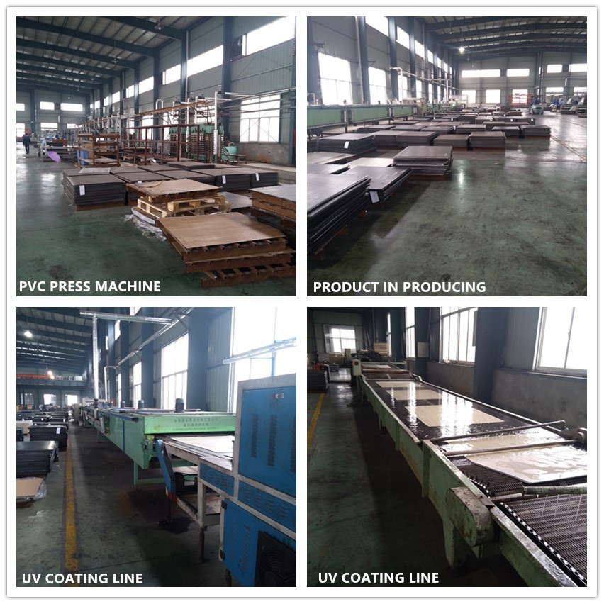vinyl flooring machine