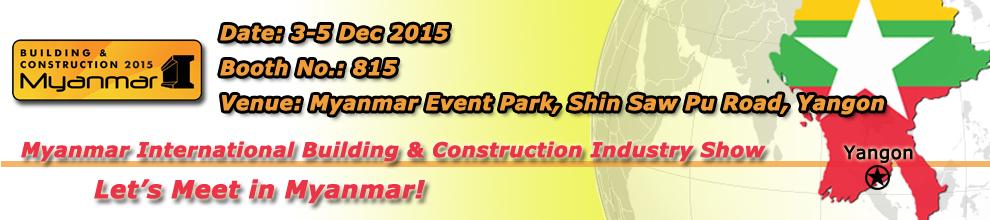 2015 Myanmar International Building & Construction Industry Show